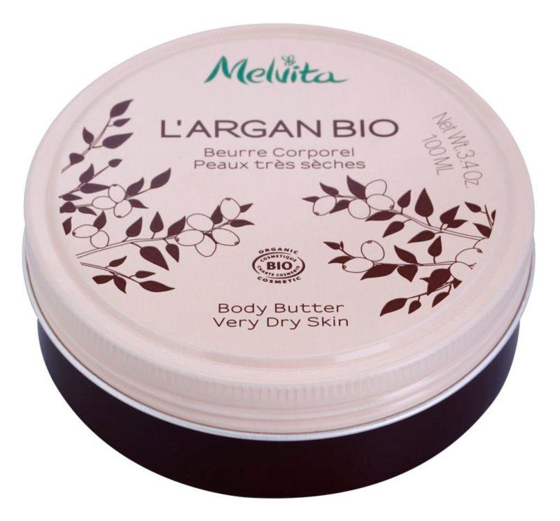 Melvita L'Argan Bio unt de corp hranitor pentru piele foarte uscata