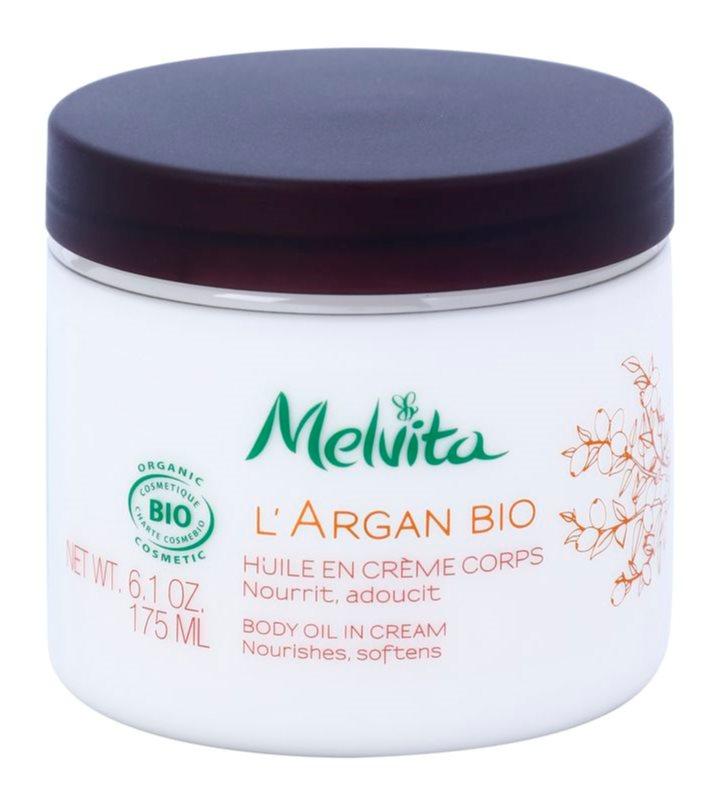 Melvita L'Argan Bio odżywczy krem do ciała do skóry delikatnej i gładkiej