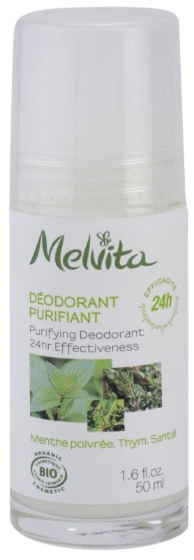Melvita Les Essentiels Desodorizante Roll-On sem amoníaco 24 h