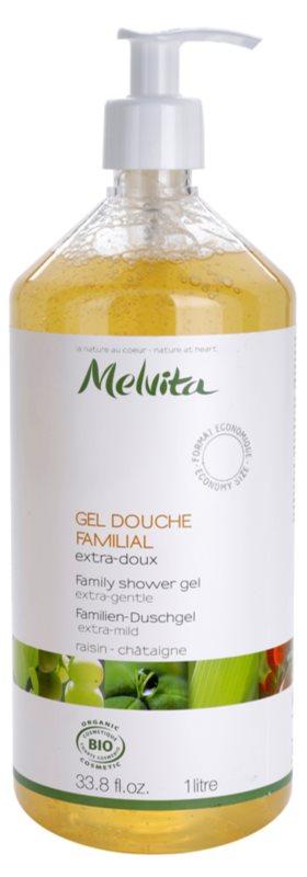 Melvita Les Essentiels besonders sanftes Duschgel für die ganze Familie