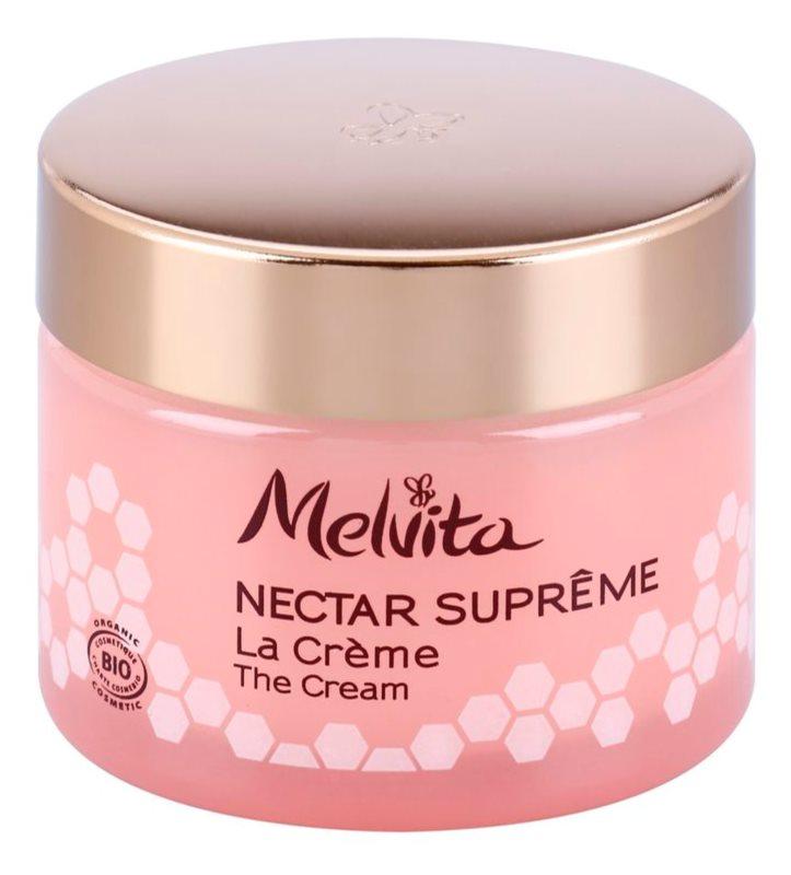 Melvita Nectar Supreme krem rozjaśniający o dzłałaniu nawilżającym