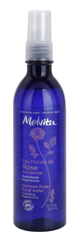 Melvita Eaux Florales Rose Ancienne Moisturizing Facial Toner In Spray