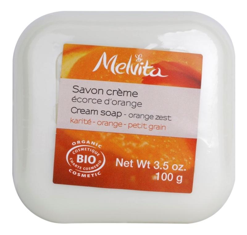 Melvita Savon sabonete cremoso  com manteiga de karité