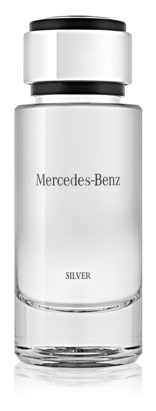 Mercedes-Benz For Men Silver Eau de Toilette for Men 120 ml
