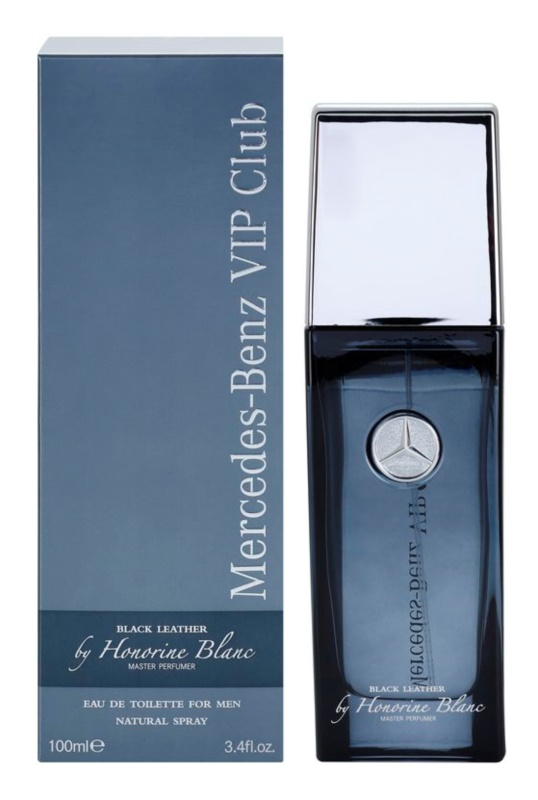 Mercedes-Benz VIP Club Black Leather Eau de Toilette for Men 100 ml
