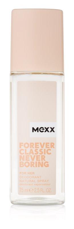 Mexx Forever Classic Never Boring for Her spray dezodor nőknek 75 ml