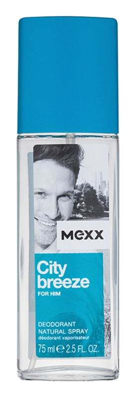 Mexx City Breeze Deo met verstuiver voor Mannen 75 ml