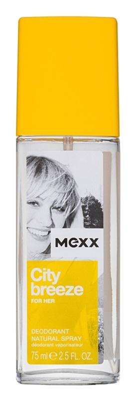 Mexx City Breeze deodorant s rozprašovačem pro ženy 75 ml