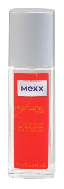 Mexx Energizing Man deodorant s rozprašovačom pre mužov 75 ml