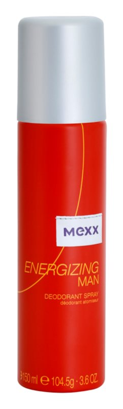 Mexx Energizing Man Deo-Spray für Herren 150 ml
