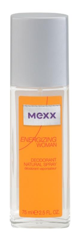 Mexx Energizing Woman Deo met verstuiver voor Vrouwen  75 ml