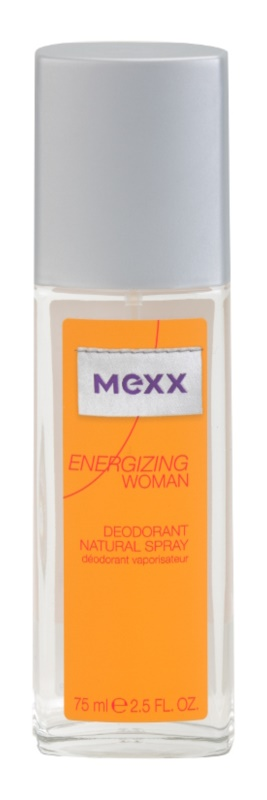 Mexx Energizing Woman deodorant s rozprašovačom pre ženy 75 ml
