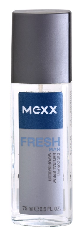 Mexx Fresh Man deodorant s rozprašovačem pro muže 75 ml