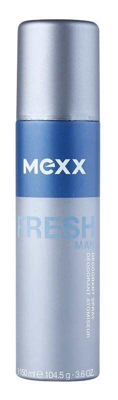 Mexx Fresh Man deodorant Spray para homens 150 ml