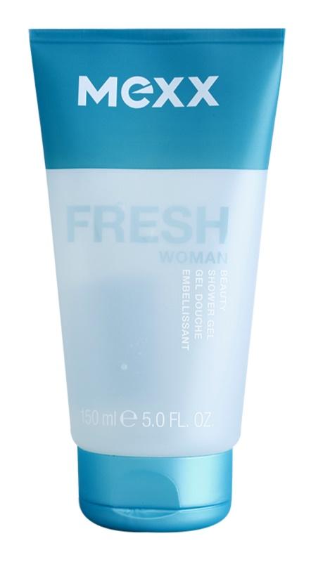 Mexx Fresh Woman sprchový gél pre ženy 150 ml