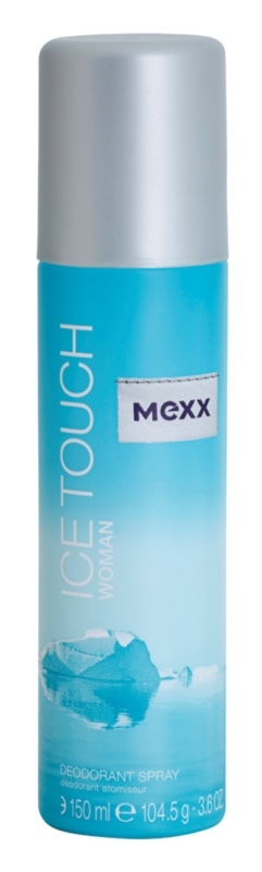 Mexx Ice Touch Woman Deo Spray voor Vrouwen  150 ml