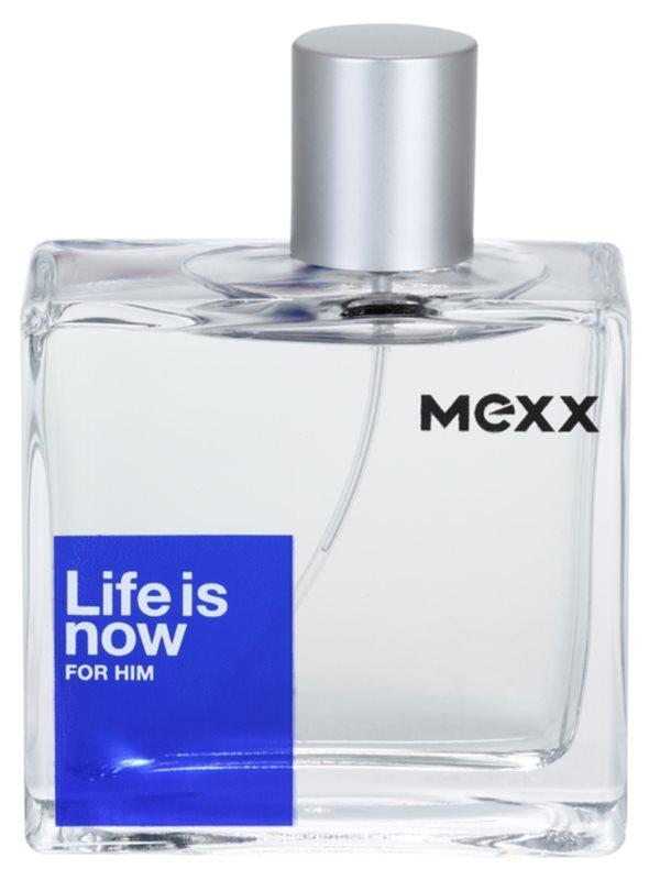 Mexx Life is Now  for Him Eau de Toilette for Men 75 ml