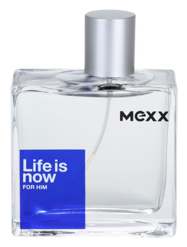 Mexx Life is Now for Him toaletna voda za moške 75 ml