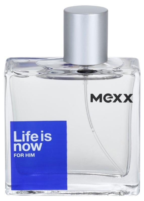 Mexx Life is Now  for Him woda toaletowa dla mężczyzn 50 ml
