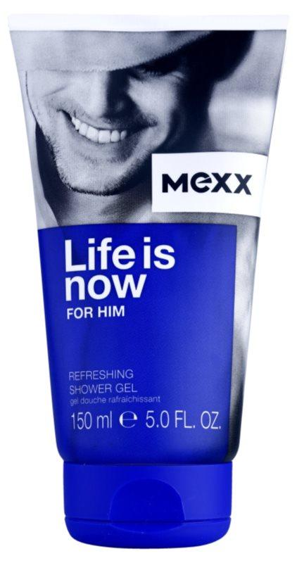 Mexx Life is Now for Him sprchový gél pre mužov 150 ml
