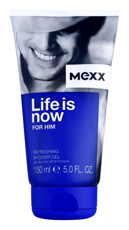 Mexx Life is Now for Him żel pod prysznic dla mężczyzn 150 ml