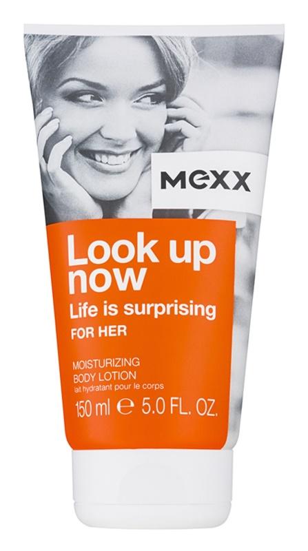 Mexx Look Up Now For Her lapte de corp pentru femei 150 ml