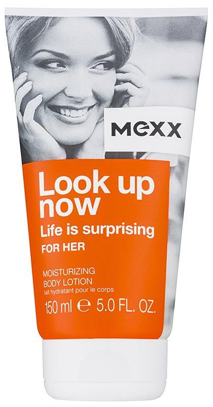 Mexx Look Up Now For Her tělové mléko pro ženy 150 ml