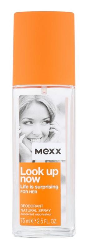Mexx Look Up Now For Her deodorant s rozprašovačem pro ženy 75 ml