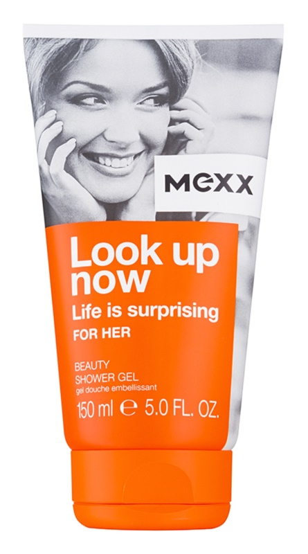 Mexx Look Up Now For Her gel douche pour femme 150 ml