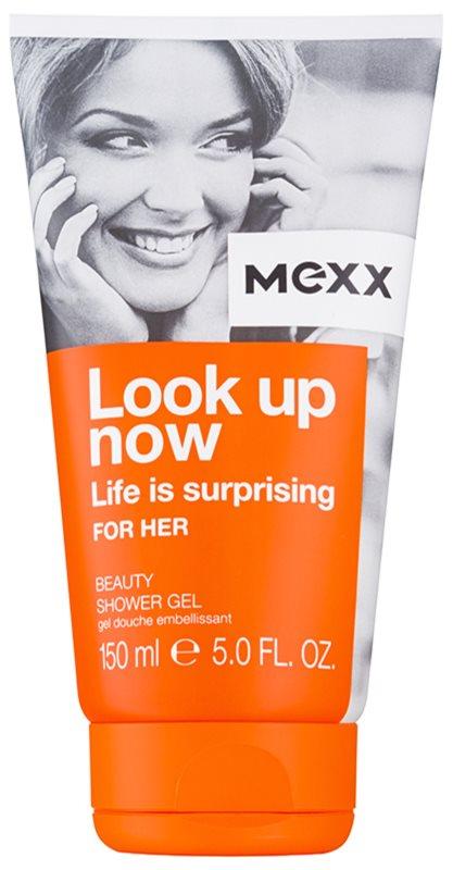 Mexx Look Up Now For Her gel za prhanje za ženske 150 ml
