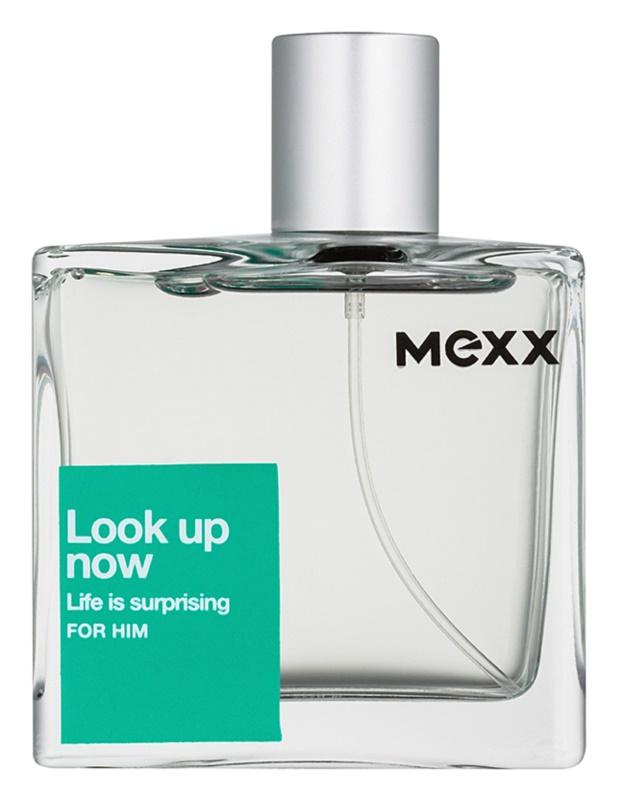 Mexx Look Up Now For Him eau de toilette férfiaknak 75 ml