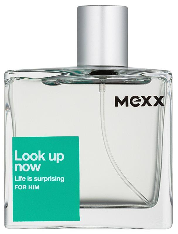 Mexx Look Up Now For Him toaletní voda pro muže 75 ml