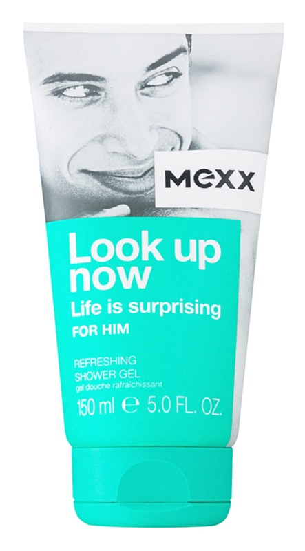 Mexx Look Up Now For Him Duschgel für Herren 150 ml