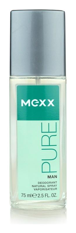 Mexx Pure for Man dezodorant z atomizerem dla mężczyzn 75 ml