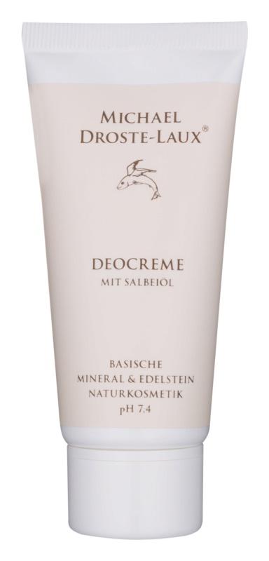 Michael Droste-Laux Basiches Naturkosmetik desodorante en crema