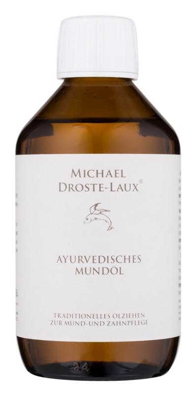 Michael Droste-Laux Basiches Naturkosmetik Entgiftendes Mundöl