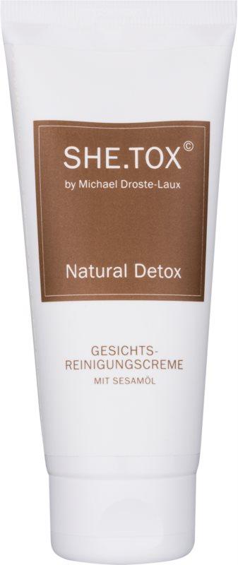 Michael Droste-Laux SHE.TOX čistiaci krém pre všetky typy pleti
