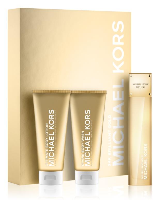 Michael Kors 24K Brilliant Gold Gift Set  II.