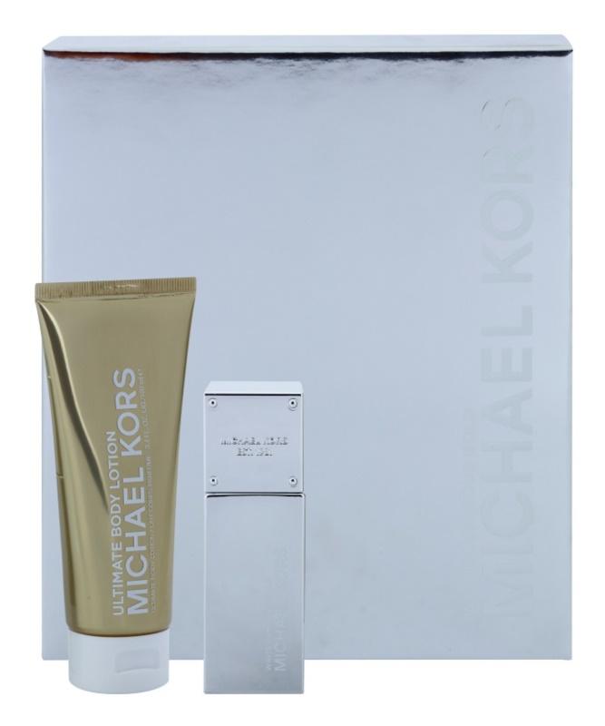 Michael Kors White Luminous Gold set cadou I.