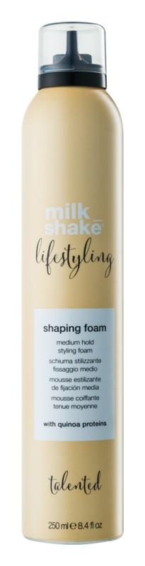 Milk Shake Lifestyling pěna pro objem a tvar účesu chránící před tepelnou úpravou