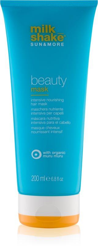 Milk Shake Sun & More Intensiv nährende Maske für durch Chlor, Sonne oder Salzwasser geschädigtes Haar