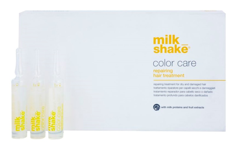 Milk Shake Color Care tratamento de cuidado para cabelos secos e pintados
