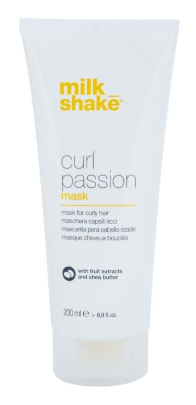 Milk Shake Curl Passion Masker  voor Krullend Haar