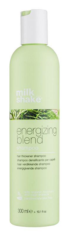 Milk Shake Energizing Blend energetyzujący szampon dla delikatnych, przerzedzonychi łamliwych włosów