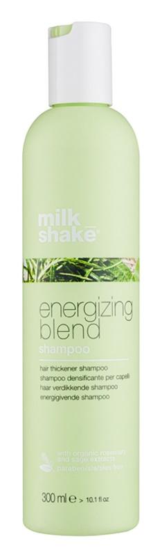 Milk Shake Energizing Blend shampoo energizzante per capelli fini, che si diradano e fragili