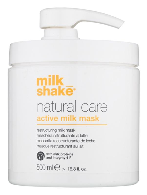 Milk Shake Natural Care Active Milk Active Melk Masker voor Droog en Beschadigd Haar