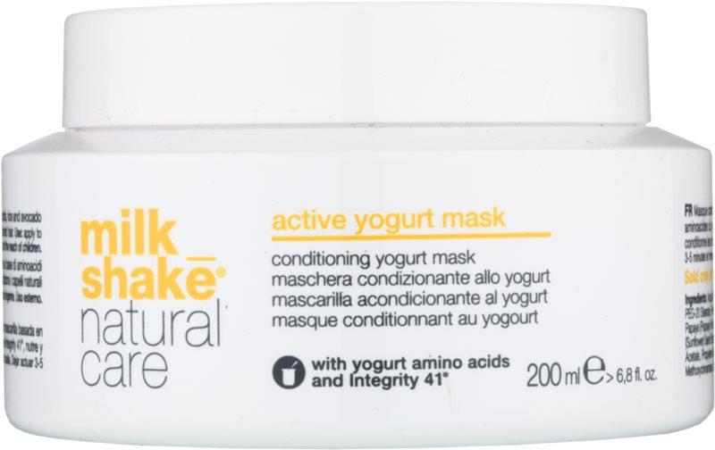 Milk Shake Natural Care Active Yogurt masca de iaurt activa par