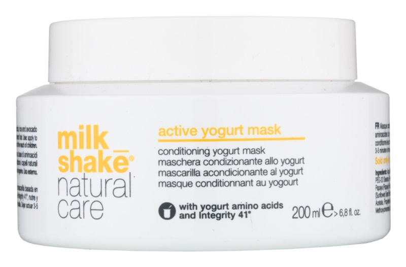 Milk Shake Natural Care Active Yogurt maschera allo yogurt attiva per capelli