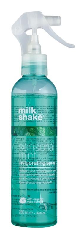 Milk Shake Sensorial Mint osviežujúci a hydratačný sprej na vlasy