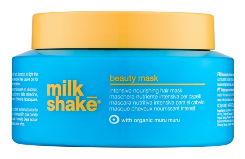 Milk Shake Sun & More máscara nutritiva, hidratante e intensiva para cabelo danificado pelas ações do sol, cloro e sal